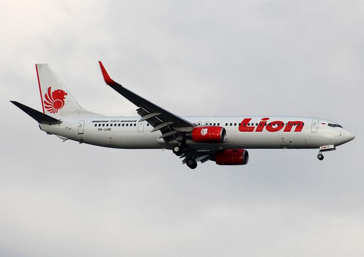 самолет Lion Air